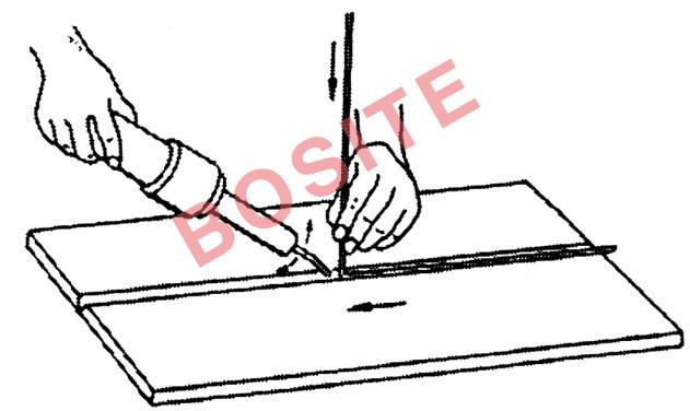 塑料焊枪操作要领图解- 柏斯特焊接设备有限公司